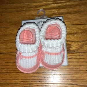 BABY GIRL NEWBORN BOOTIES SHOE DESIGN